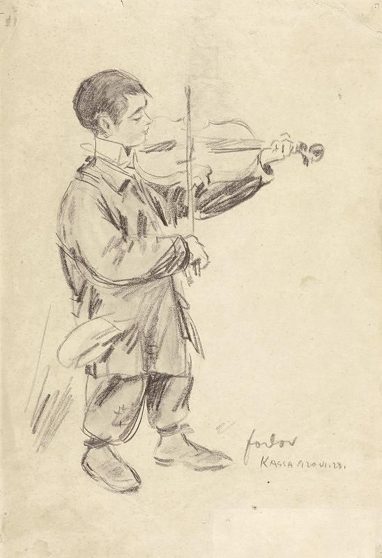 Štefan Fodor – Mladý huslista