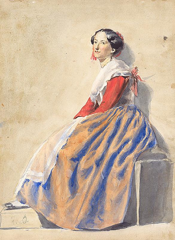 Vojtech Klimkovič – Žena z Talianska