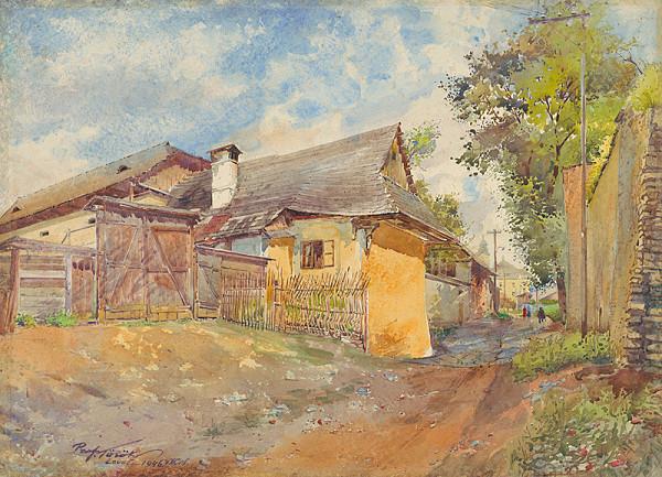 Július Török – Za hradbami v Levoči