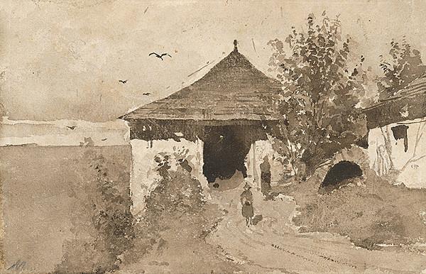 Ladislav Mednyánszky - Starý mlyn