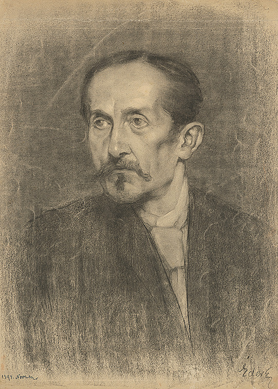 Július Éder - Podobizeň muža