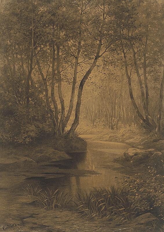 Ľudovít Čordák - Interiér lesa