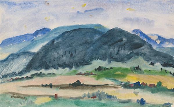 Anton Sučka – Leto pod horami