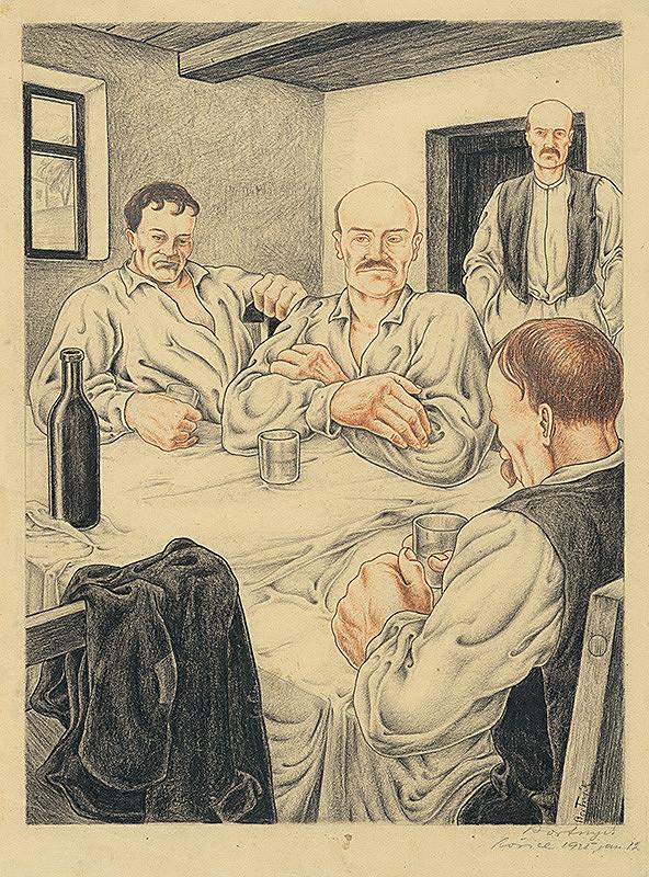 Alexander Bortnyik – Pri stole