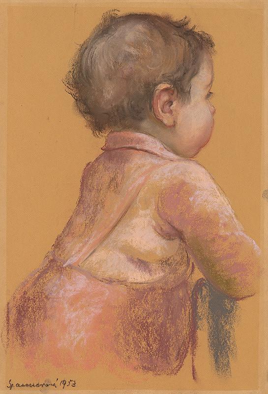Edita Spannerová – Štúdia dieťaťa (Zuzka)