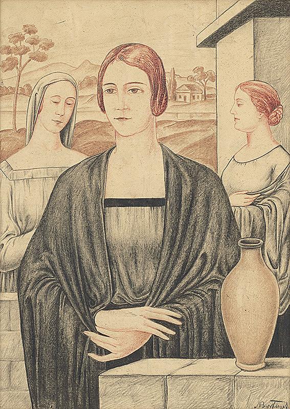 Alexander Bortnyik - Ženy pri studni