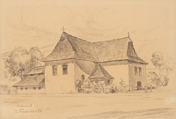 Jozef Fabini – Evanielický kostol v Kežmarku
