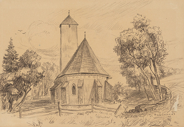 Jozef Fabini – Kostol v Svinici
