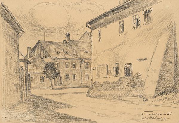 Jozef Fabini – Ulica v Spišskom Podhradí