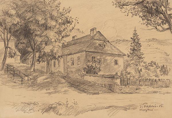 Jozef Fabini – Dom v Korytnom