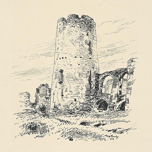 Jozef Majkut - Veža Spišského hradu