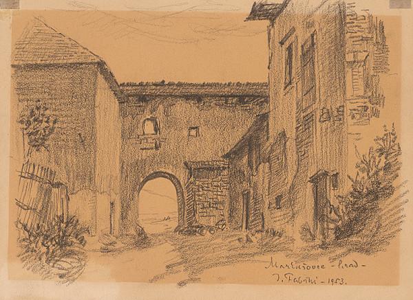 Jozef Fabini – Markušovský hrad