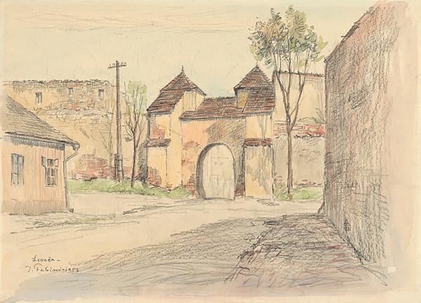 Jozef Fabini – Mestská brána v Levoči