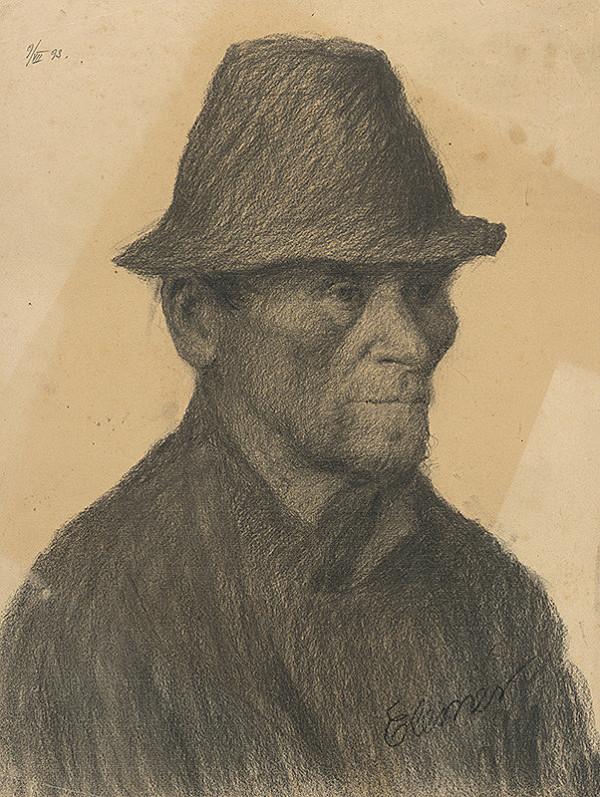 Elemír Halász-Hradil – Podobizeň muža