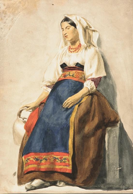 Vojtech Klimkovič – Žena z Dalmácie