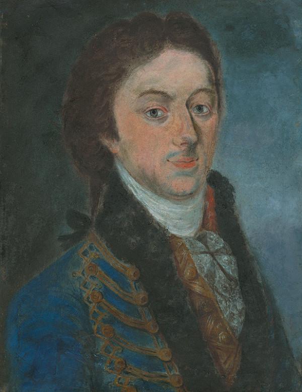 Slovenský maliar z konca 18. storočia a 1. pol. 19. storočia – Portrét mladého šľachtica