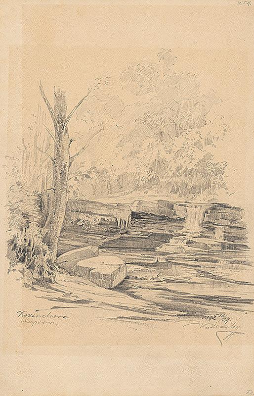 Eugen Wallachy - Štúdia potoka