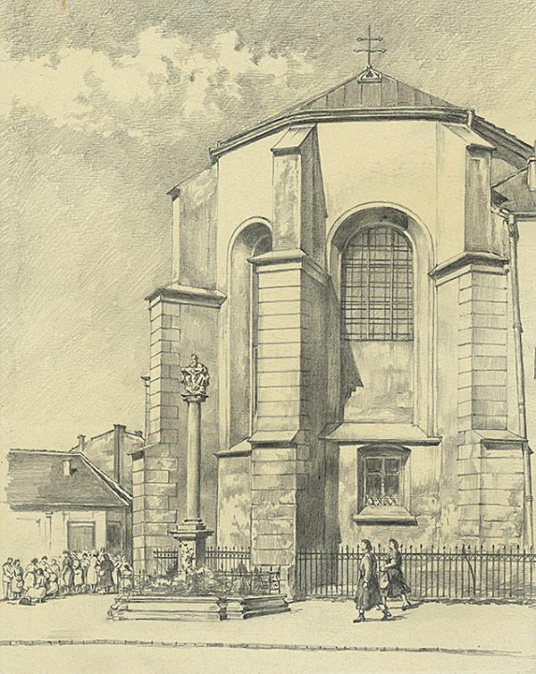 Vojtech Šipoš - Dominikánsky kostol v Košiciach