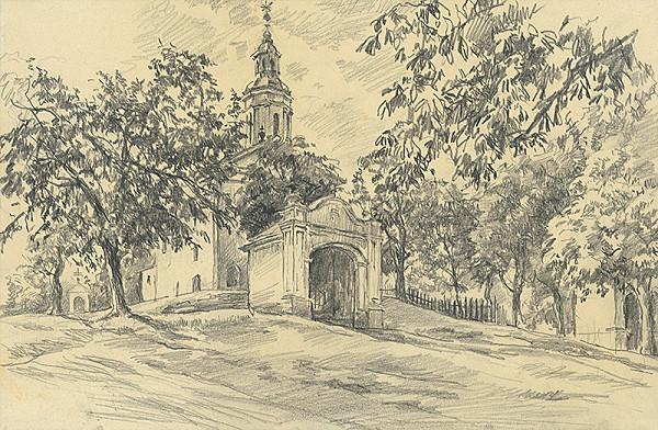 Vojtech Šipoš – Kalvária s kostolom Sedembolestnej Panny Márie v Košiciach