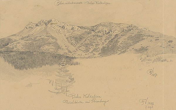 Viliam Forberger - Belianske Karpaty