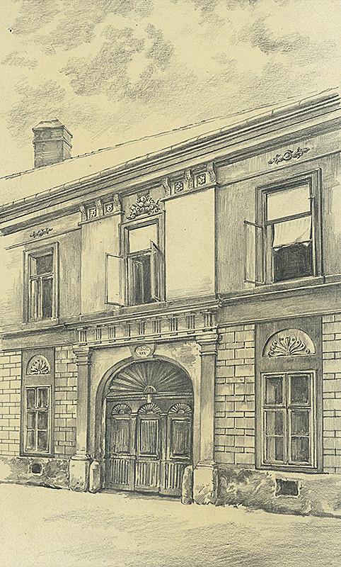 Vojtech Šipoš – Dom na Zvonárskej ulici v Košiciach
