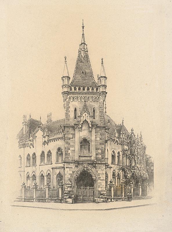 Vojtech Šipoš – Jakabov palác v Košiciach
