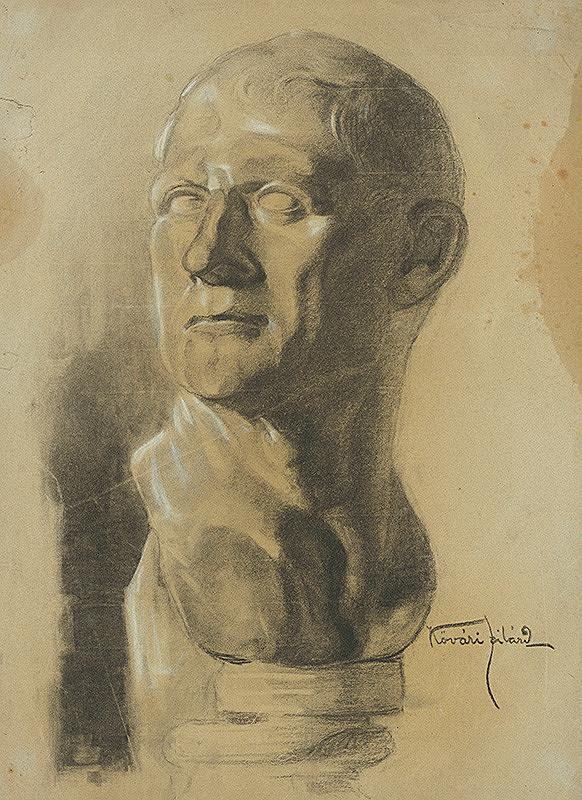 Konštantín Kövári-Kačmarik – Hlava muža
