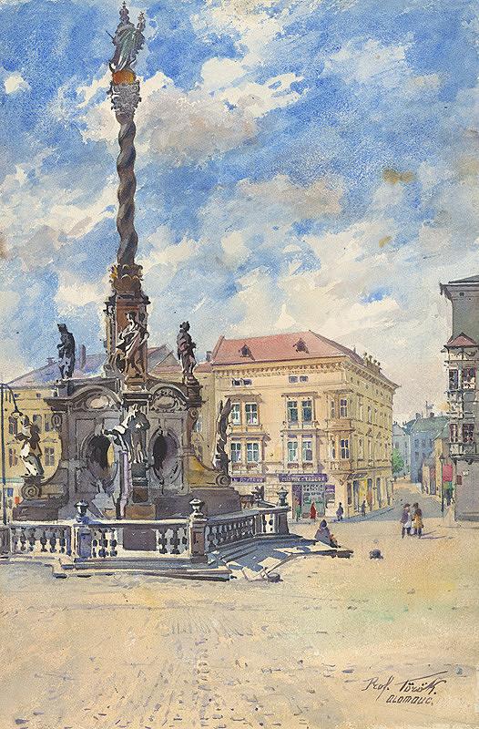 Július Török – Záber z Olomouca