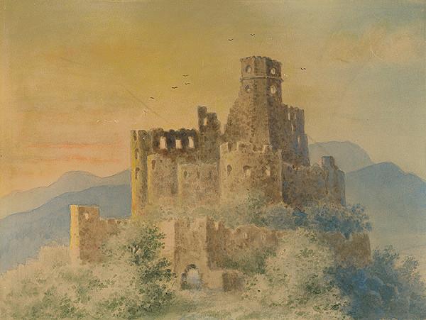 Viktor Myskovszky – Zrúcaniny hradu
