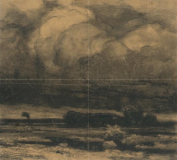 Ľudovít Čordák - Krajina s mrakmi