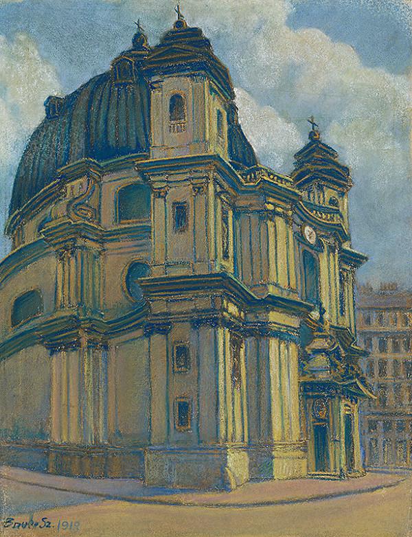 Konštantín Bauer – Kostol vo Viedni