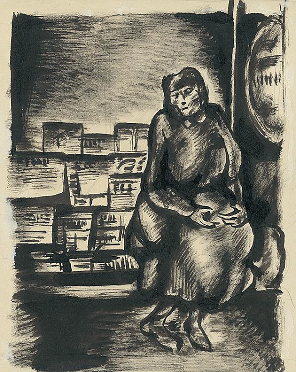 Konštantín Bauer – Žena na ulici