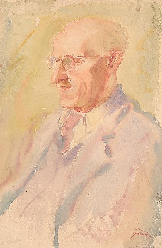 Andrej Špenik – Podobizeň umelcovho otca
