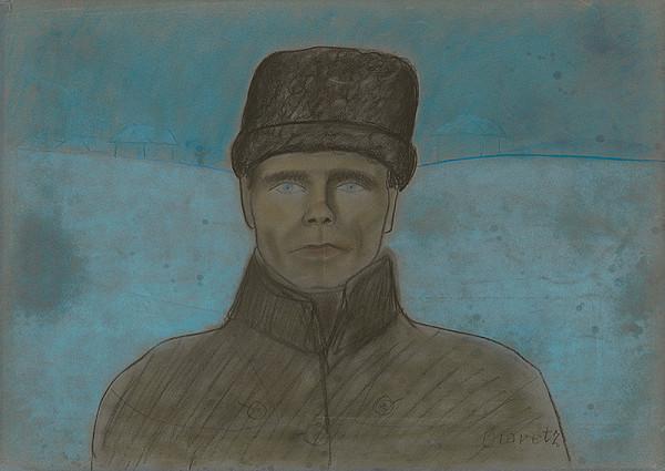 Imrich Oravec - Vlastná podobizeň