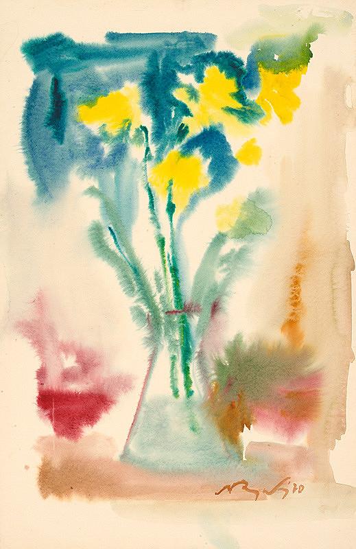 Mikuláš Rogovský – Žlté kvety