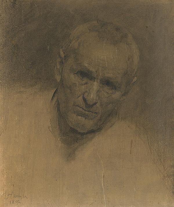 Jozef Hanula – Štúdia hlavy starca