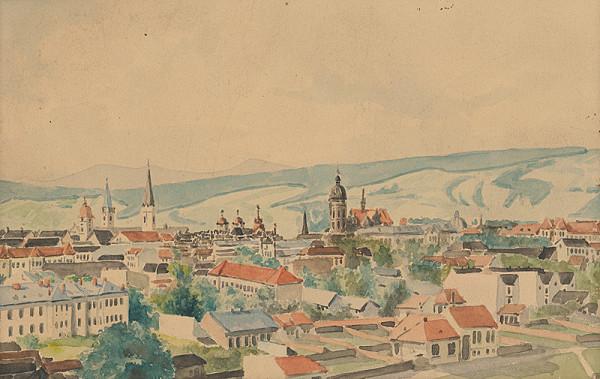 Východoslovenský maliar z 1. polovice 20. storočia - Mesto