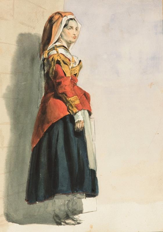 Vojtech Klimkovič – Štúdia ženy z Itálie