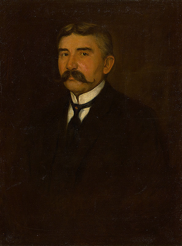 Emil Alexay-Olexák - Podobizeň umelcovho otca