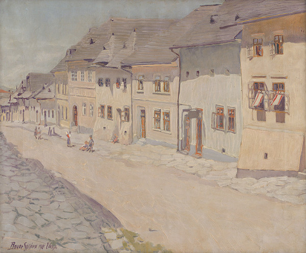 Konštantín Bauer – Záber z Levoče