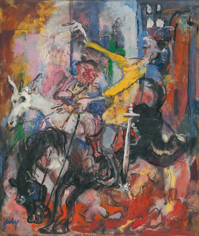 Július Jakoby: Don Quijote, 1963, Východoslovenská galéria