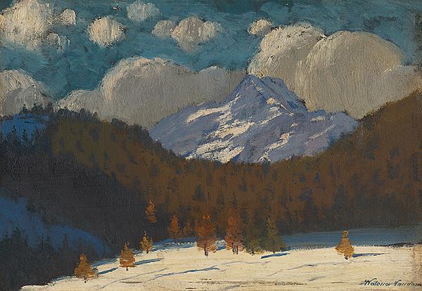 Ferdinand Katona – Vysoké Tatry v zime