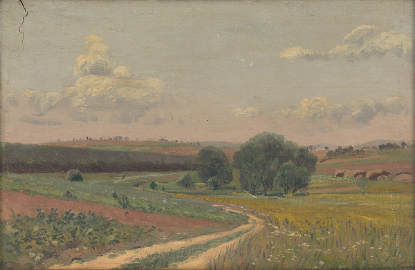 Ferdinand Katona – Krajina s poľnou cestou