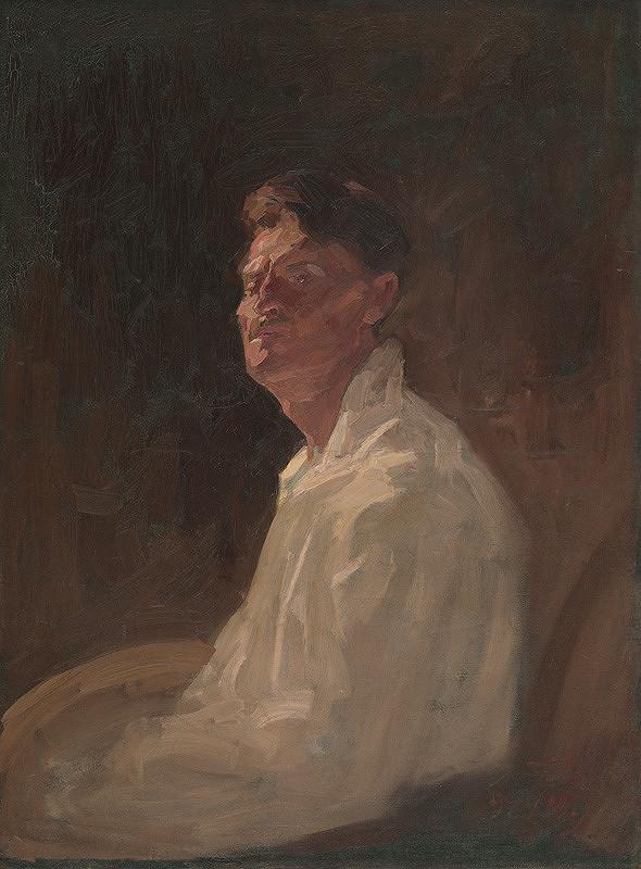 Eduard Putra - Vlastná podobizeň I.
