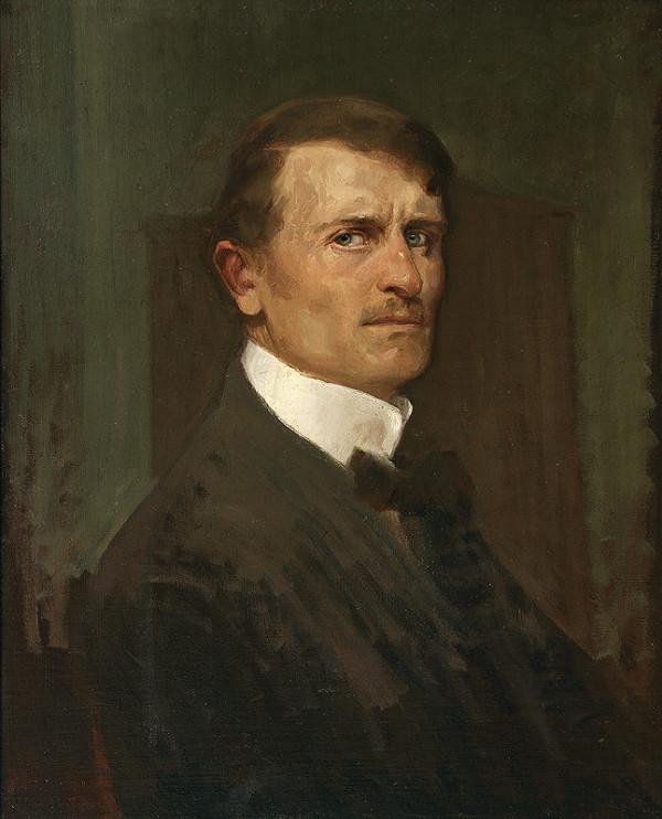 Eduard Putra - Vlastná podobizeň II.