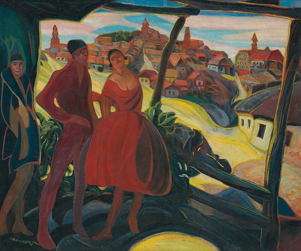 Anton Jasusch - Návšteva u cigánky