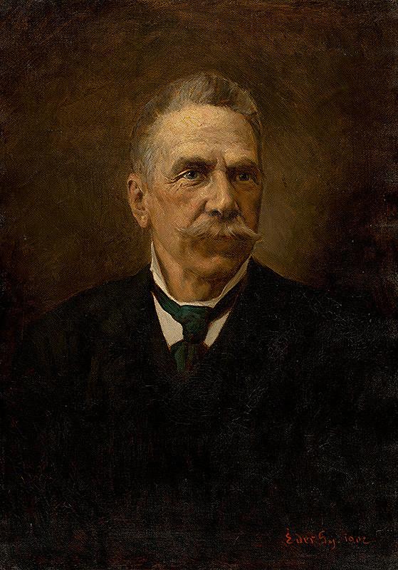 Július Éder – Podobizeň muža s fúzami