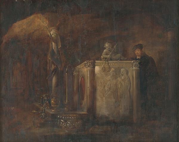 Willem de Poorter - Pri sarkofágu