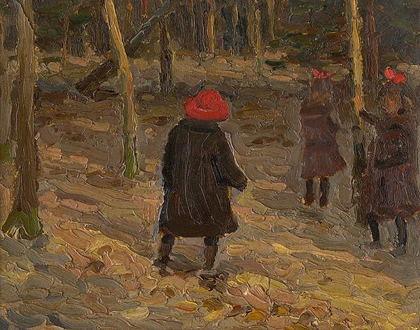Teodor Jozef Mousson – Umelcove deti v parku