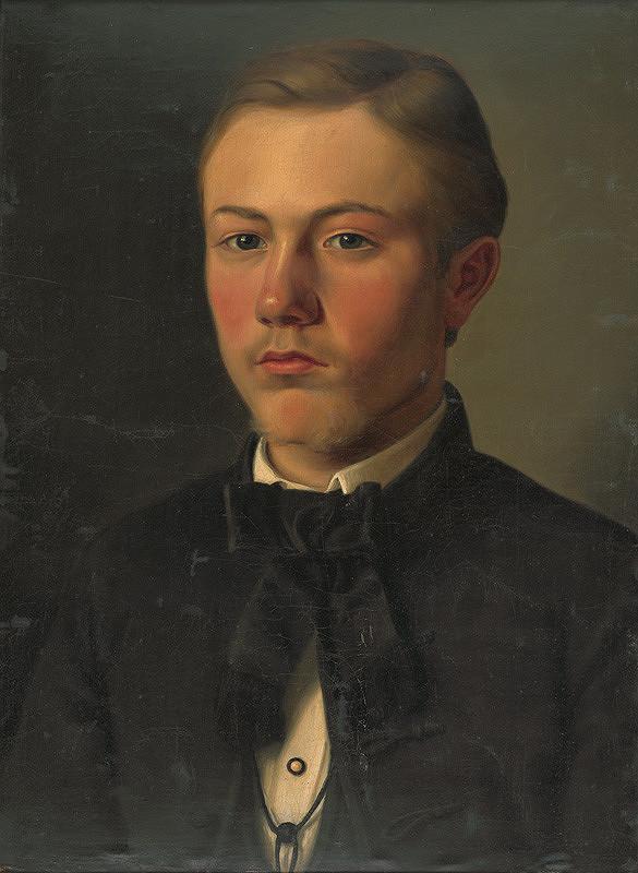 Gyula Benczúr – Podobizeň Gejzu Bencúra